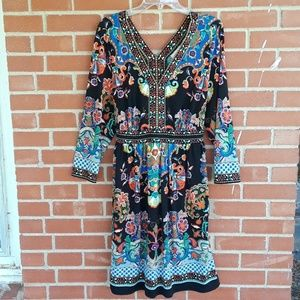 Eci New York plus size 2X Bohemian dress
